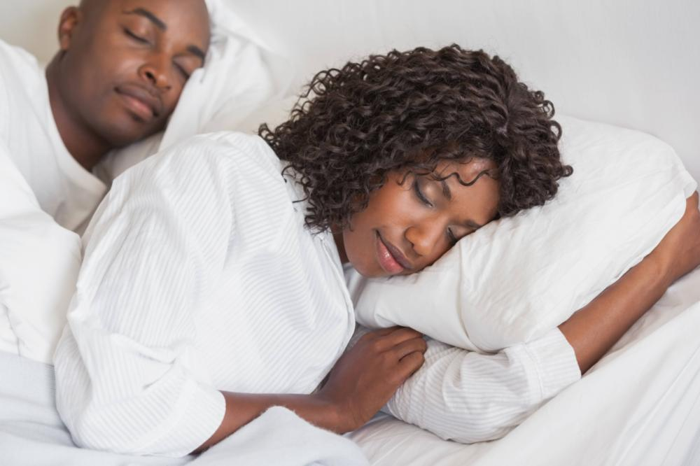 Couple Sleeping Soundly | Sleep Apnea Treatment Aloha OR