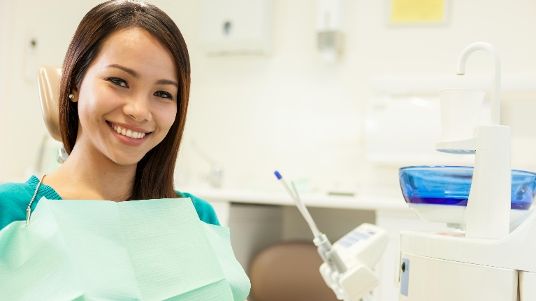 Girl at Dentist | Dentist in Hillsboro OR