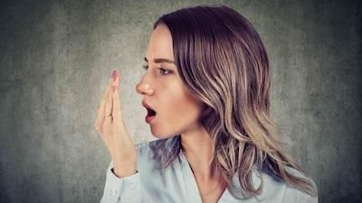 Woman with Bad Breath | Hillsboro OR Dentist